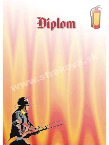Diplom - hasiči /DP1/