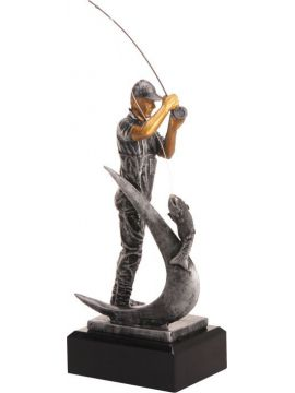 Trofej - rybár /RFST2083/GR/