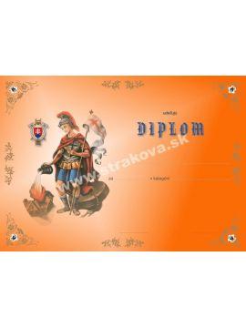 Diplom - Sv. Florián /DP11/